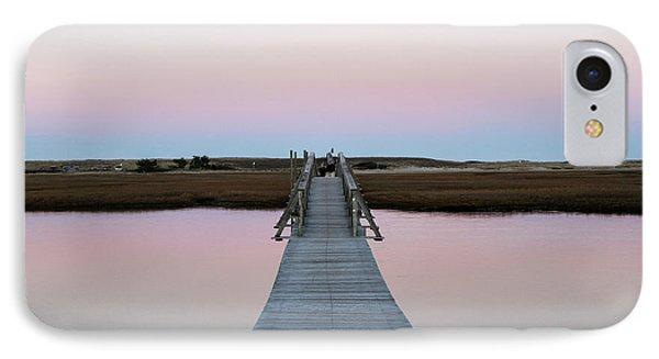Sandwich Boardwalk, Cape Cod IPhone Case by Susan Pease