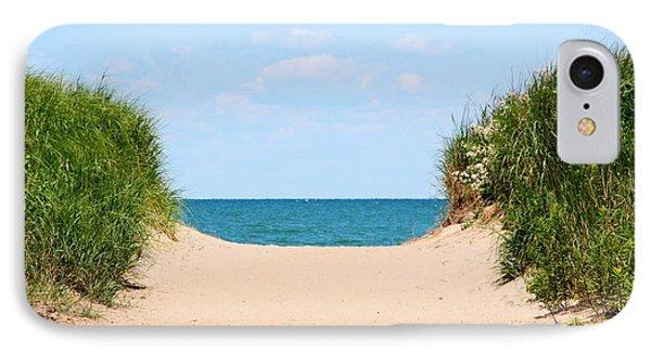 Sandy Beach Phone Case by Heather Allen