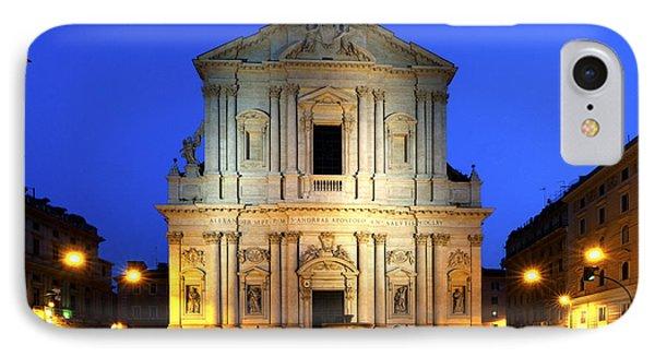 Sant' Andrea Della Valle IPhone Case by Fabrizio Troiani