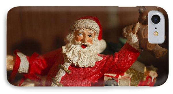 Santa Claus - Antique Ornament - 26 Phone Case by Jill Reger