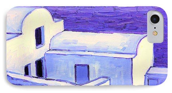 Santorini Houses Phone Case by Ana Maria Edulescu