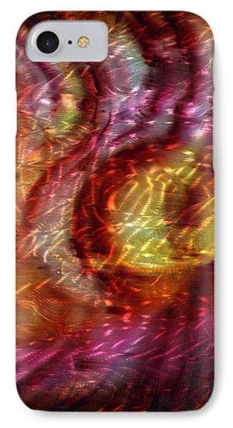 Saturn's Winds 2 Of 3 Phone Case by Luis  Navarro