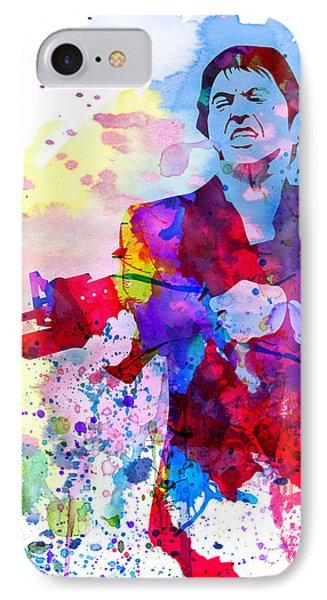 Scar Watercolor IPhone Case by Naxart Studio
