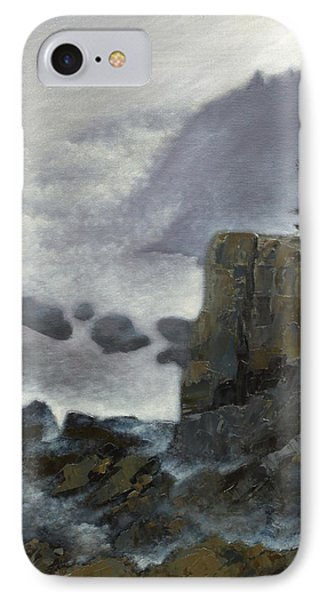 Scene From Quoddy Trail Phone Case by Alison Barrett Kent
