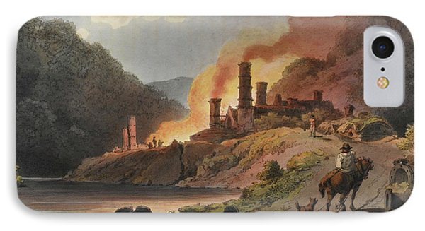 Scenery Of England And Wales IPhone Case by British Library