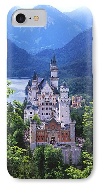 Schloss Neuschwanstein IPhone 7 Case by Timm Chapman