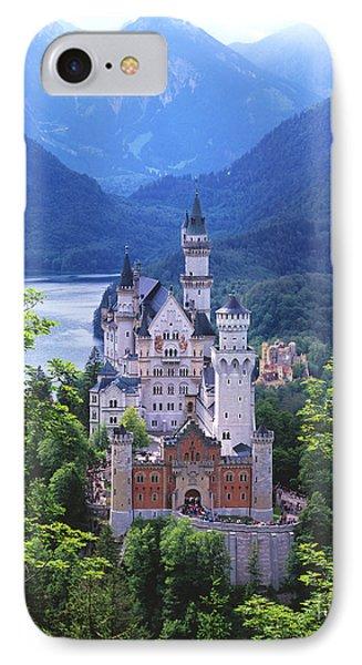 Schloss Neuschwanstein IPhone Case by Timm Chapman