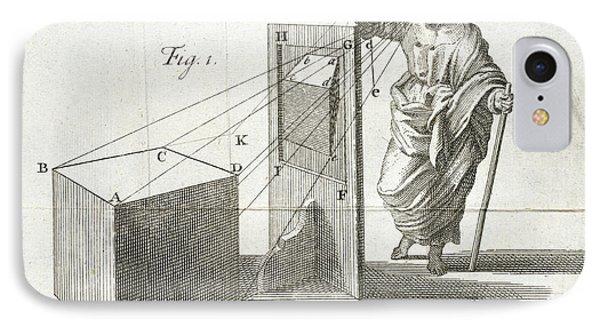 Scientific Diagram IPhone Case by British Library