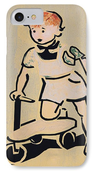 Scooter Girl Phone Case by Tony Grider
