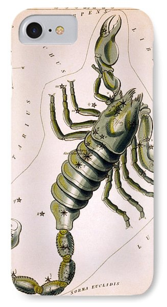 Scorpio Constellation  1825 Phone Case by Daniel Hagerman