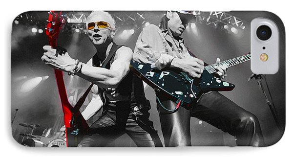 Scorpions -  Still Loving You IPhone Case by Don Kuing