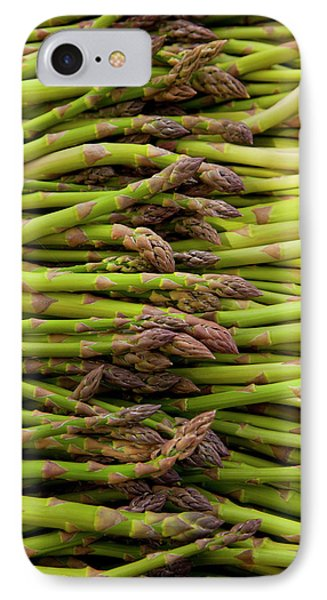 Scotts Asparagus Farm, Marlborough IPhone 7 Case by Douglas Peebles
