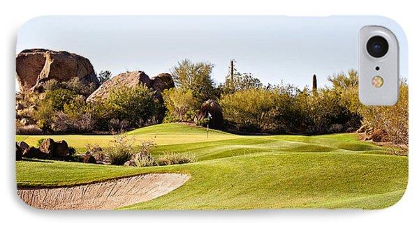 Scottsdale Golf Phone Case by Scott Pellegrin