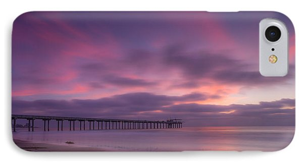 Scripps Pier Colors IPhone Case by Peter Tellone