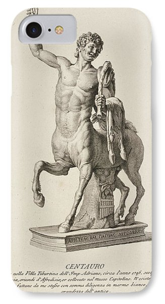 Sculpture Of Centaur From Italy IPhone Case by British Library