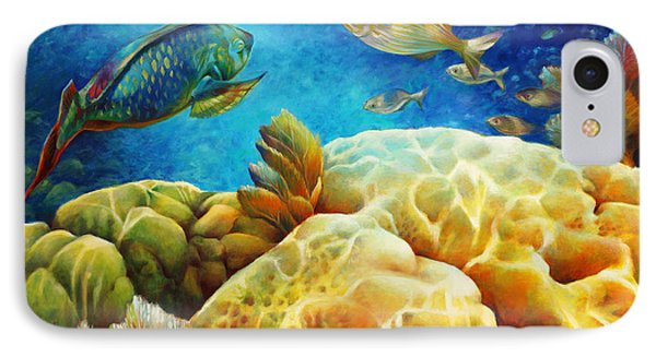 Sea Escape I -27x40 IPhone Case by Nancy Tilles