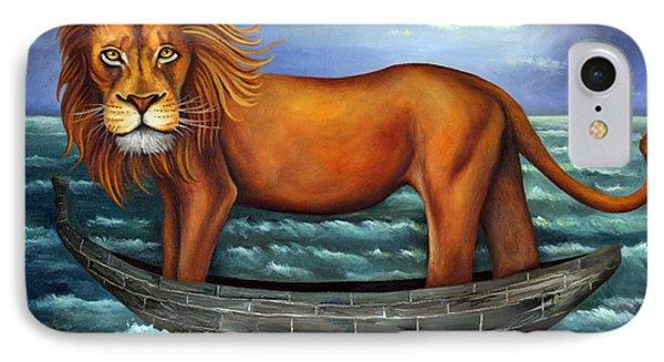 Sea Lion Bolder Image Phone Case by Leah Saulnier The Painting Maniac