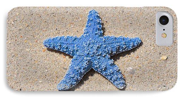 Sea Star - Light Blue Phone Case by Al Powell Photography USA