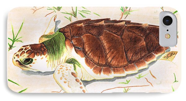 Sea Turtle Art By Sharon Cummings IPhone Case by Sharon Cummings