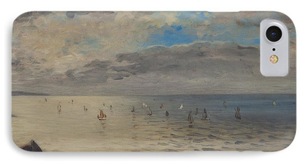 Sea Viewed From The Heights Of Dieppe IPhone Case by Ferdinand Victor Eugene Delacroix