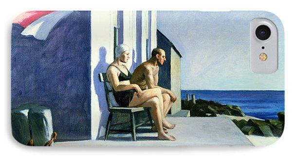Sea Watchers IPhone Case by Edward Hopper