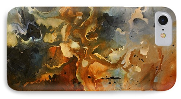 'searching For Chaos' Phone Case by Michael Lang