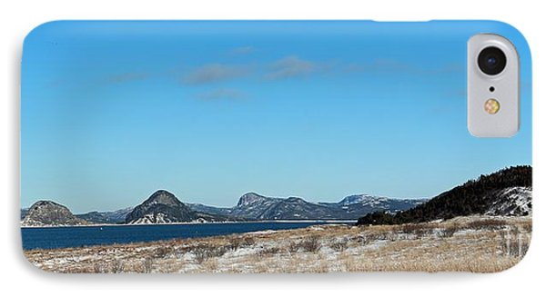 Seascape - Panorama Phone Case by Barbara Griffin