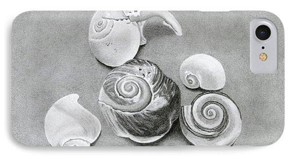 Seashells IPhone Case by Sarah Batalka
