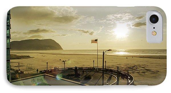 Seaside Oregon Beach IPhone Case by Daniel Hagerman