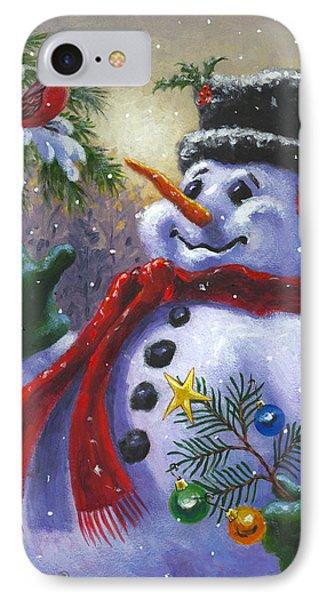 Seasons Greetings IPhone 7 Case by Richard De Wolfe