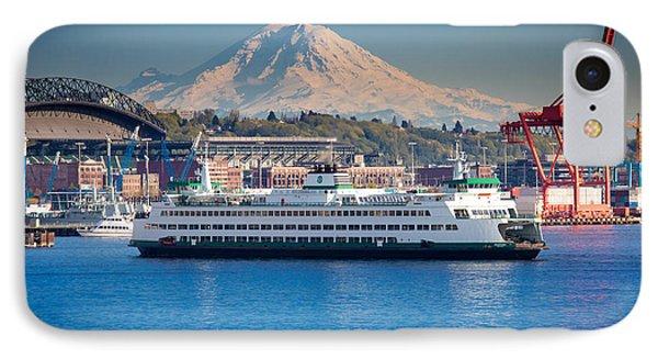 Seattle Harbor Phone Case by Inge Johnsson