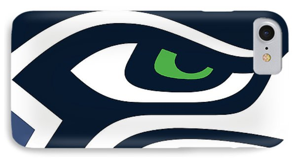 Seattle Seahawks IPhone Case by Tony Rubino