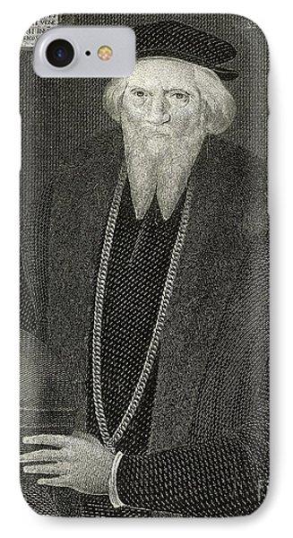 Sebastian Cabot, Italian Explorer IPhone Case by British Library