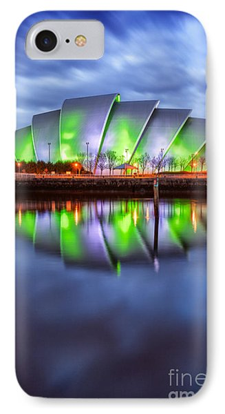 Secc Glasgow Scotland Phone Case by John Farnan
