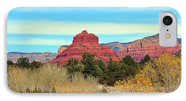 Sedona In Fall IPhone Case by Elizabeth Winter
