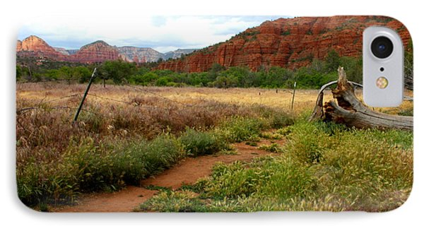 Sedona Trail IPhone Case by Carol Groenen