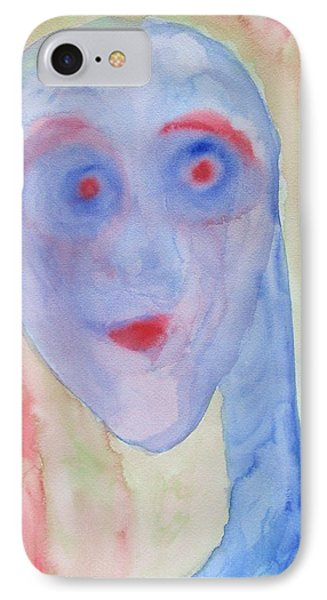 You Can See Right Through Me And Still Not Understand A Thing  IPhone Case by Hilde Widerberg