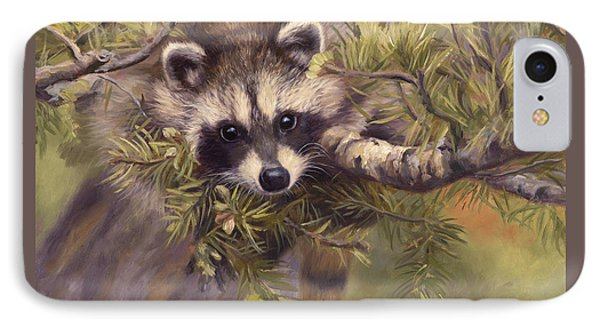 Seeking Mischief IPhone Case by Lucie Bilodeau