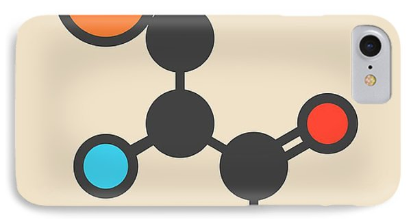 Selenocysteine Amino Acid Molecule IPhone Case by Molekuul