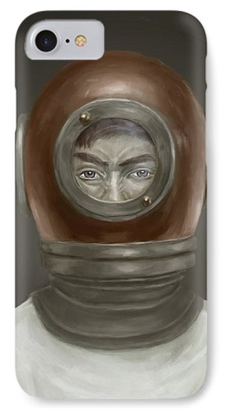 Self Portrait IPhone Case by Balazs Solti