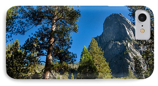 Sentinel Dome, Yosemite Np Phone Case by Mark Newman