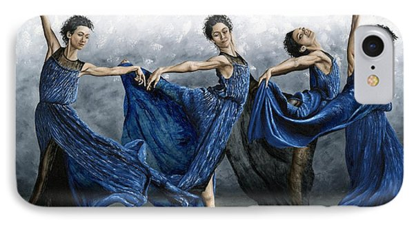 Sequential Dancer IPhone Case by Richard Young