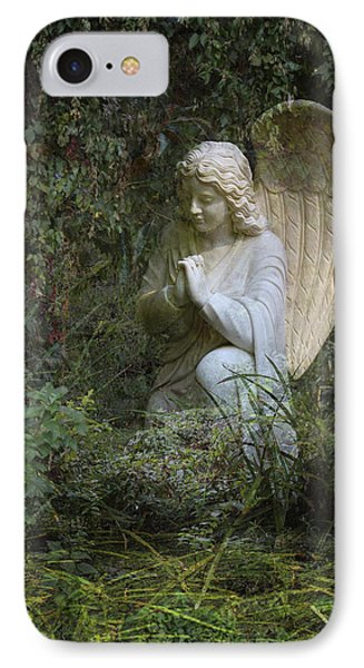Seraphim Angel Garden IPhone Case by Ella Kaye Dickey