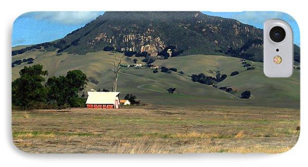 Serenity Under Bishops Peak IPhone Case by Kurt Van Wagner