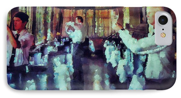 Setting Up For Dinner  IPhone Case by Janice MacLellan