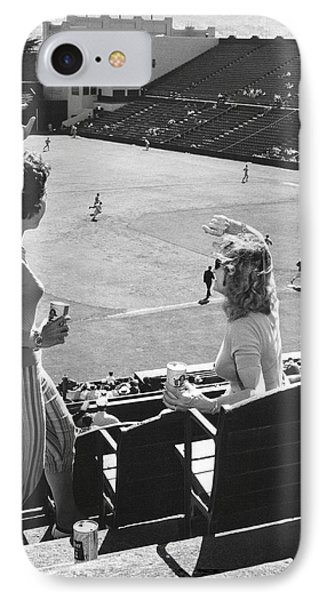 Sf Giants Fans Cheer Phone Case by Underwood Archives