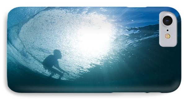 Shadow Surfer IPhone Case by Sean Davey