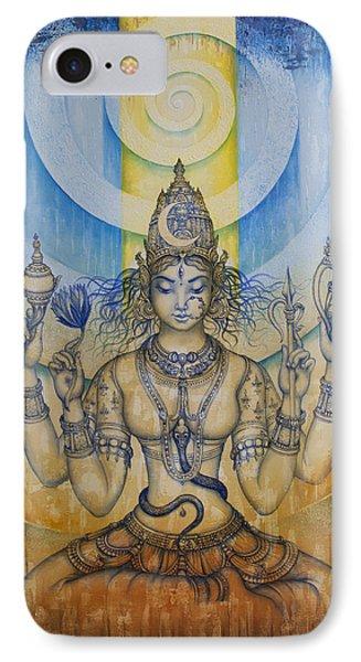 Shakti - Tripura Sundari IPhone Case by Vrindavan Das