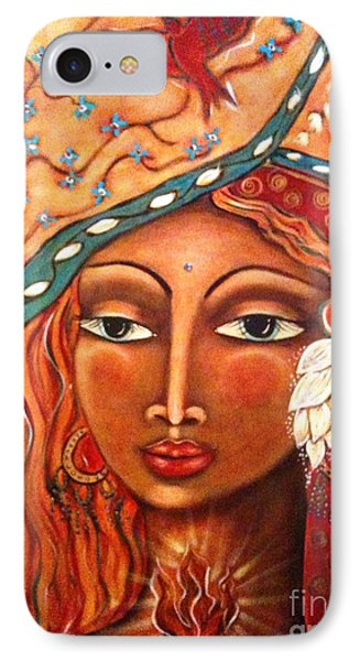 She Sees Phone Case by Maya Telford