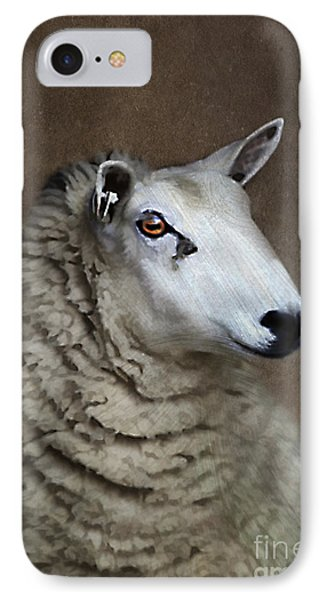 Sheep Phone Case by Darren Fisher